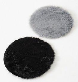 Sitzkissen grau oder schwarz