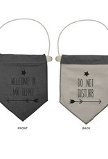 Tipi Flag grey