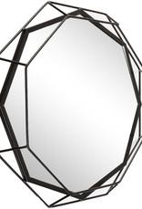 Presenttime Wandspiegel Linea black