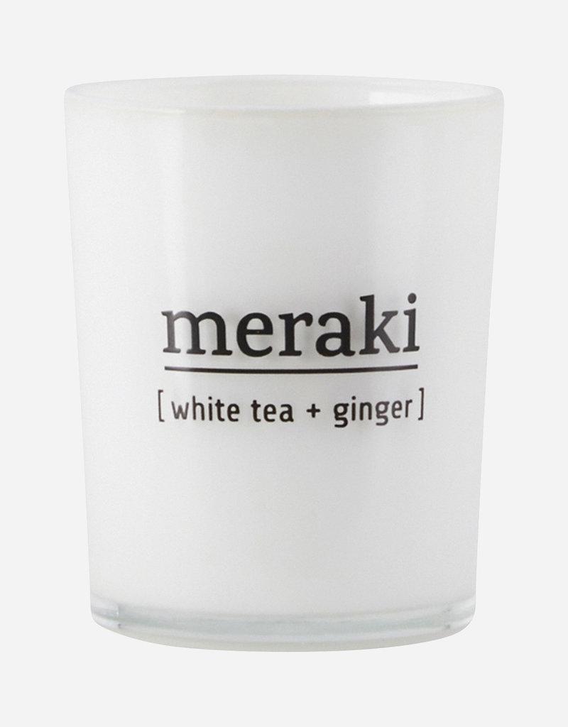 Meraki  weißer Tee und Ingwer