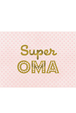 Postkarte Super Oma