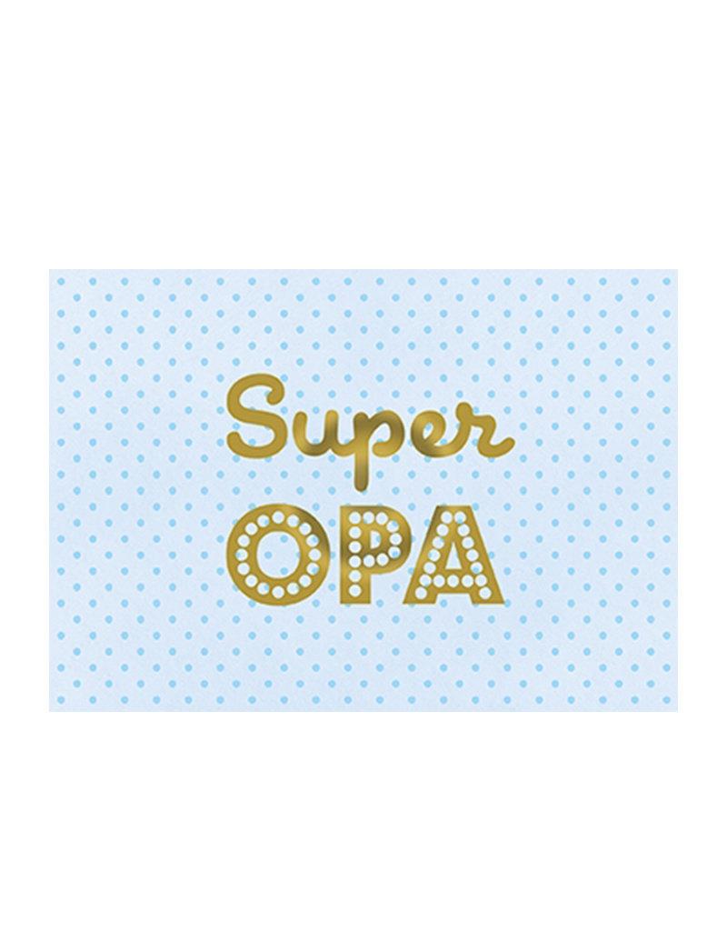 Postkarte Super Opa