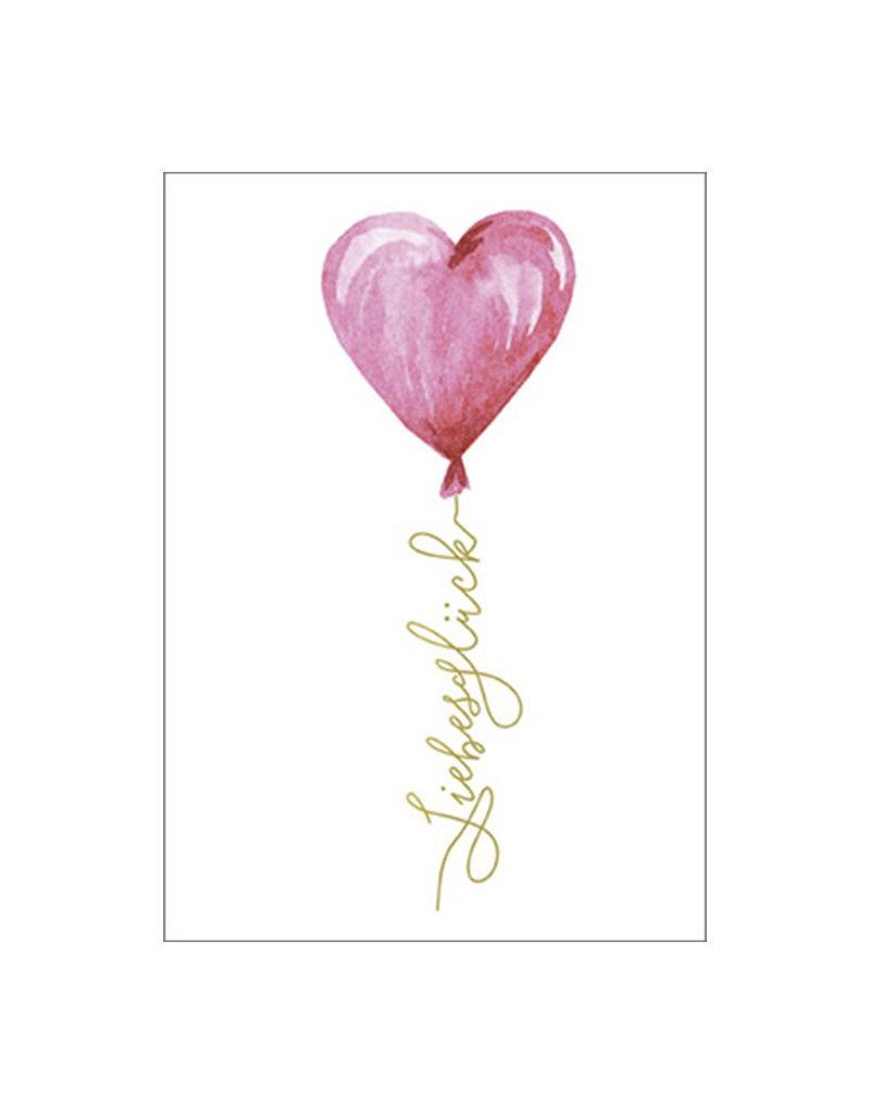 Umschlagkarte Liebesglück