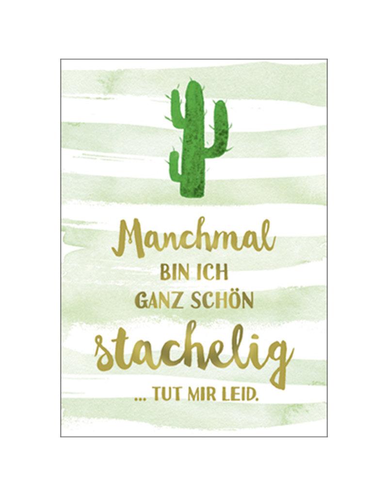 Postkarte Stachelig