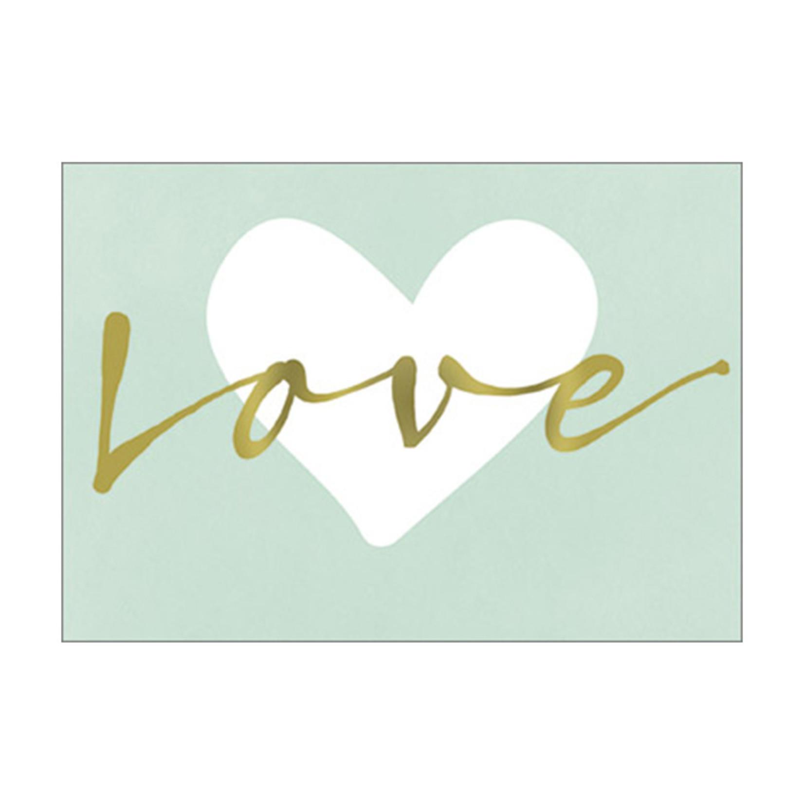 Postkarte Love