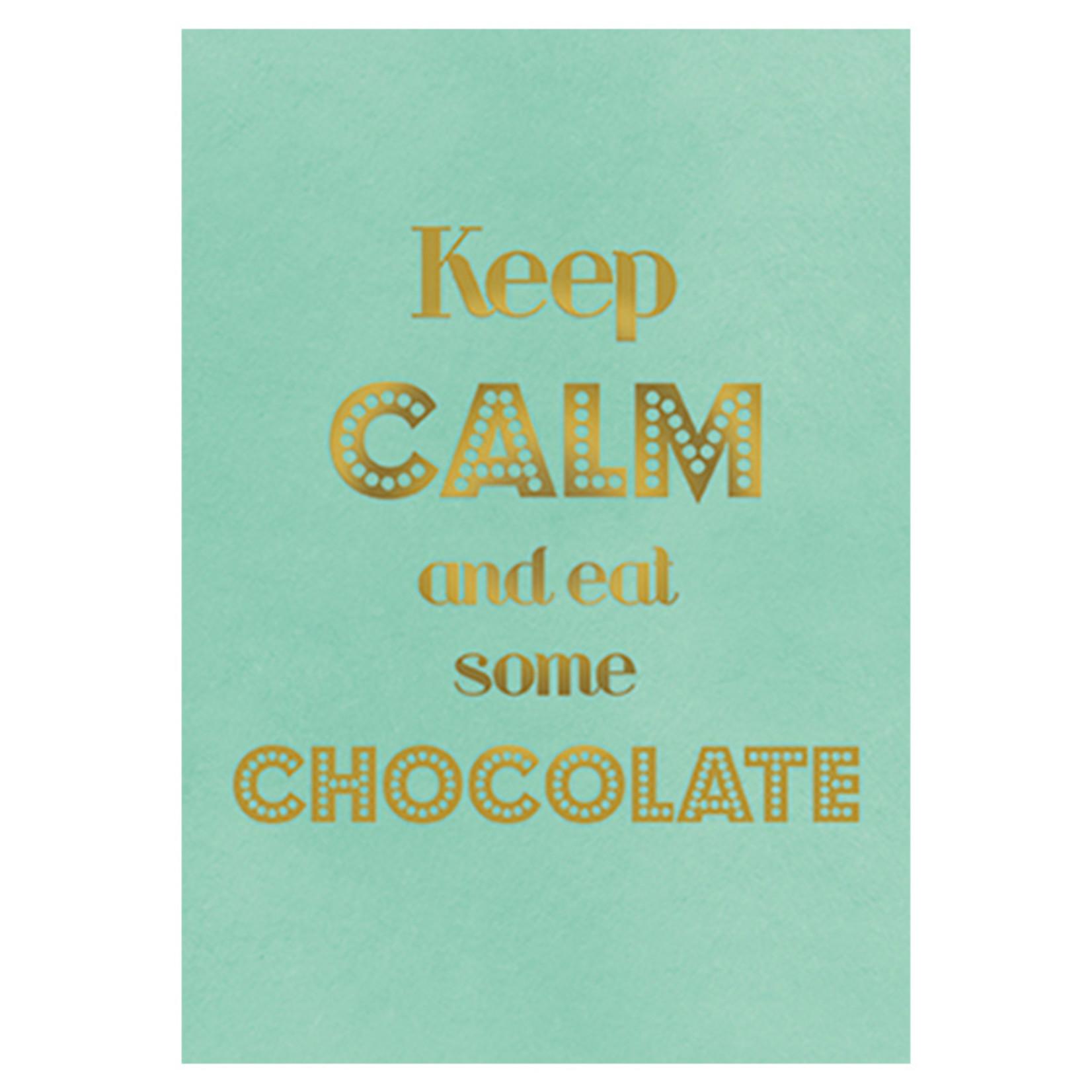 Postkarte Chocolate