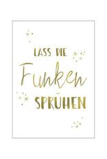 Postkarte Funken