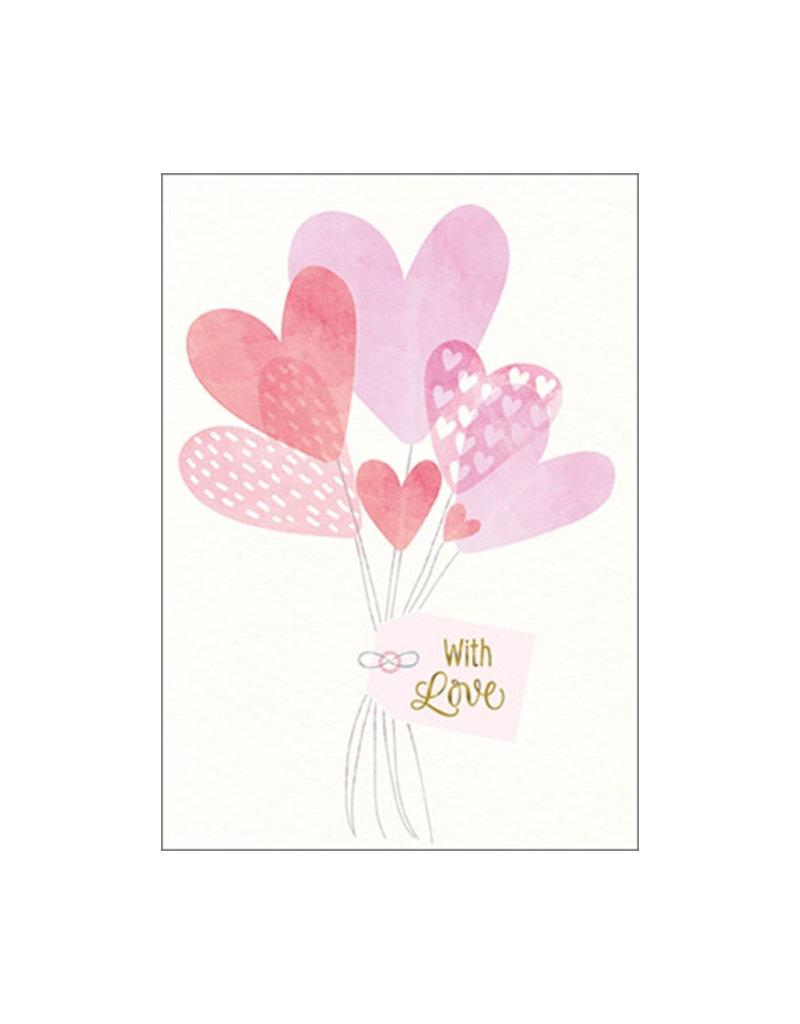 Umschlagkarte  with Love
