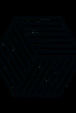 Zone Denmark Topfuntersetzer Hexagon schwarz