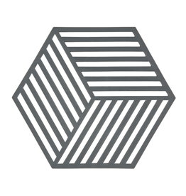 Zone Denmark Topfuntersetzer Hexagon grau