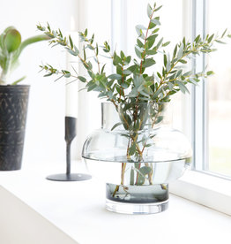 House Doctor Vase Forms Low Grau