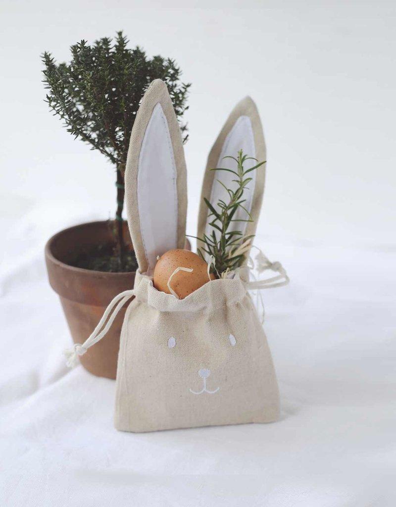 Eulenschnitt Geschenktüte Hase 2er Set