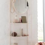 Jolipa  Wandregal mit Spiegel beige