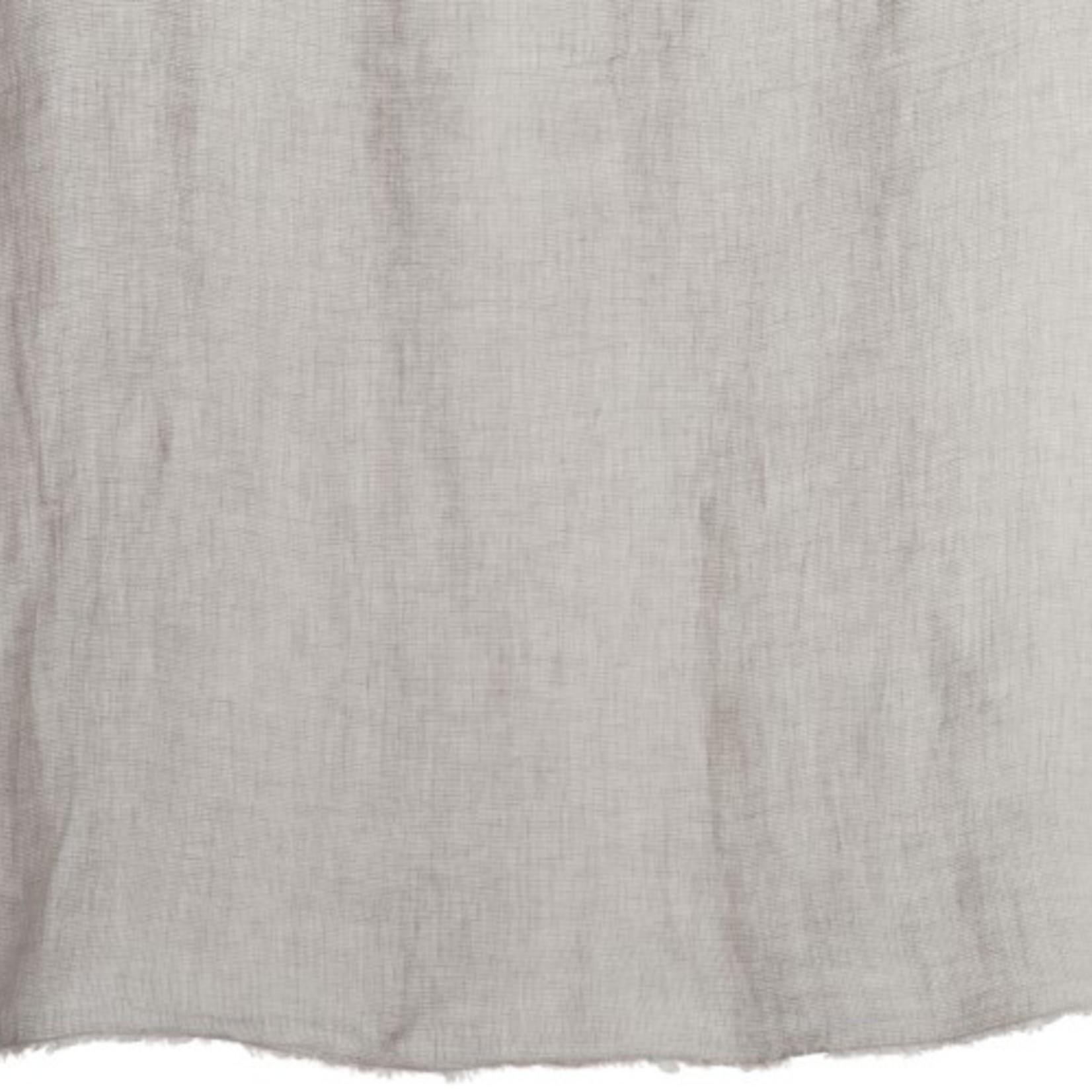 Jolipa  Plaid verschwaschen Leinen grau