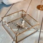 Hübsch Interior Glasbox gold