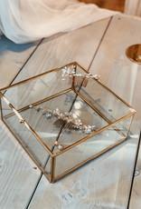 Hübsch Interior Glasdosen der Marke Hübsch Interior in 2 Größen - Copy