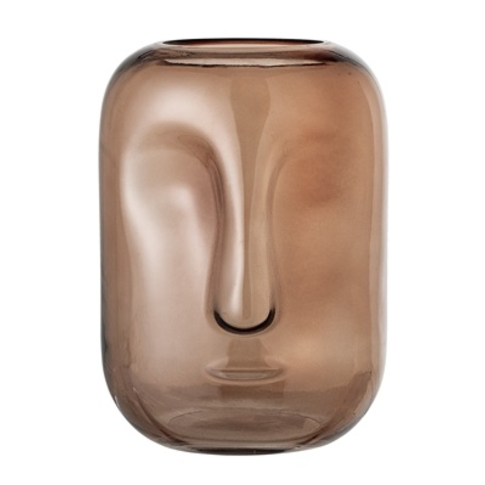 Bloomingville  Vase Face Brown