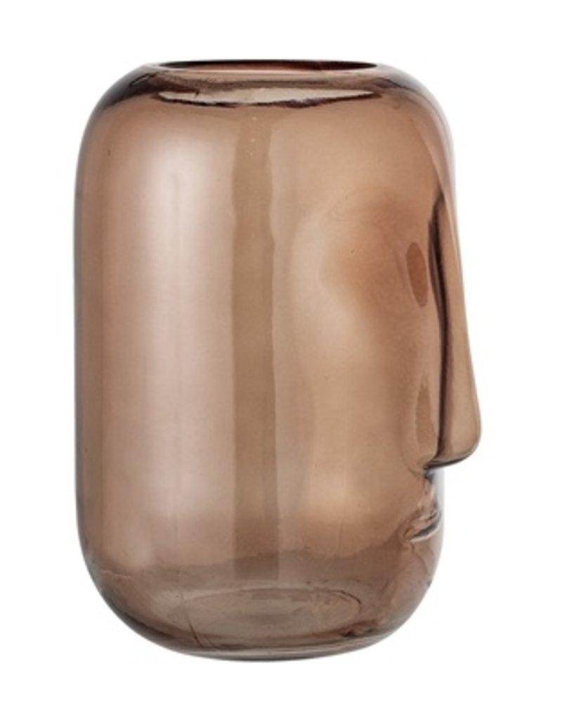 Bloomingville  Vase Face Brown