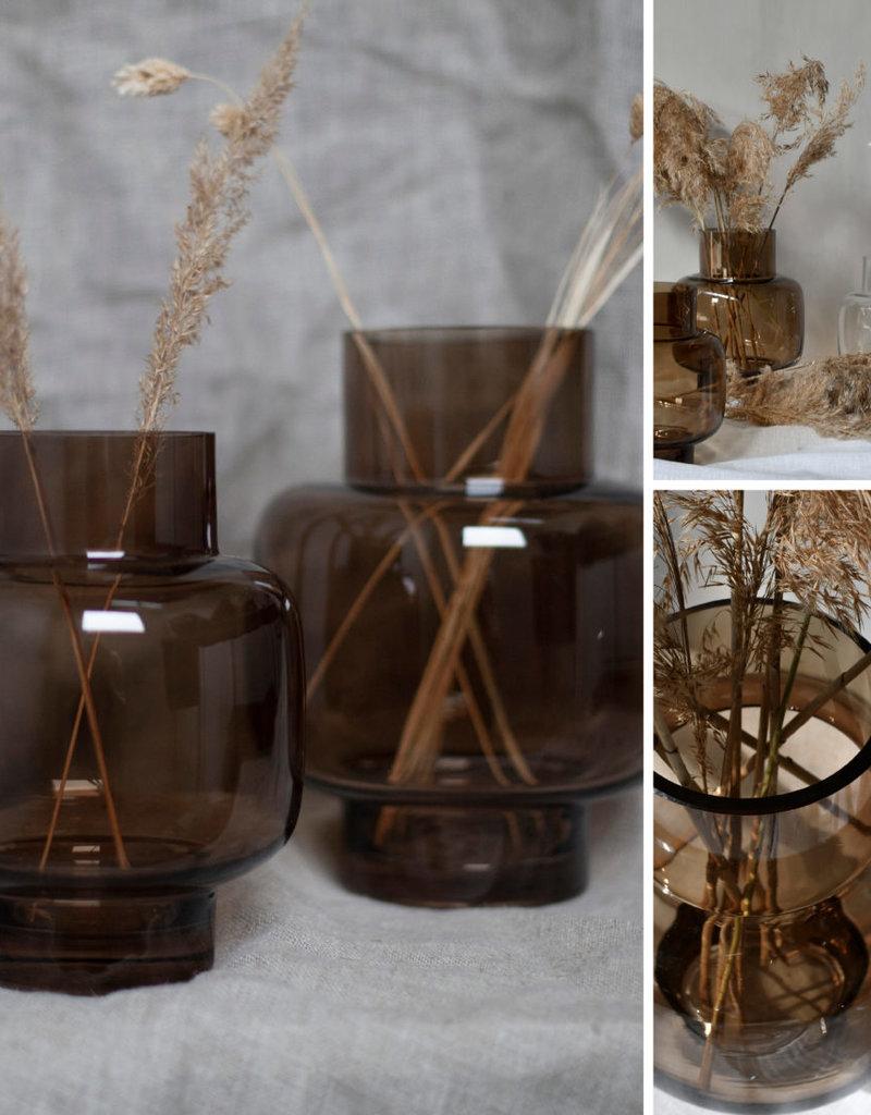 Storefactory  Vase Aspliden braun