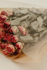 Bund getrocknete Rosen La Bell