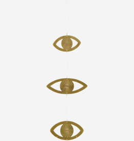 Madam Stoltz Hanging Ornaments Eye