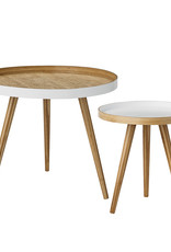 Bloomingville  Cappuccino Coffee Table Set