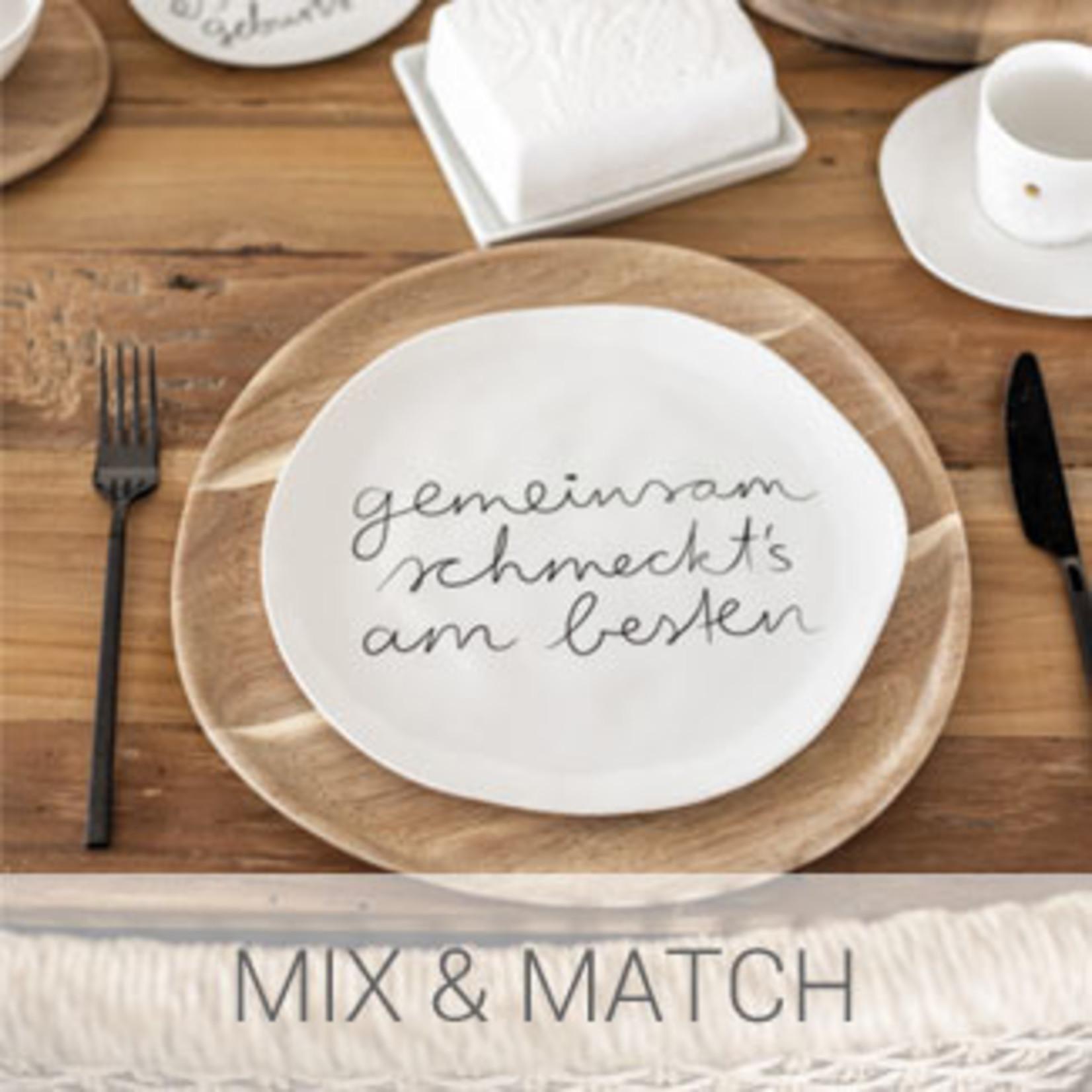 Räder Design Mix and Match Teller Gemeinsam