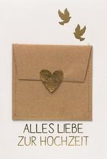Räder Design Grußkarte Gutschein Alles Liebe