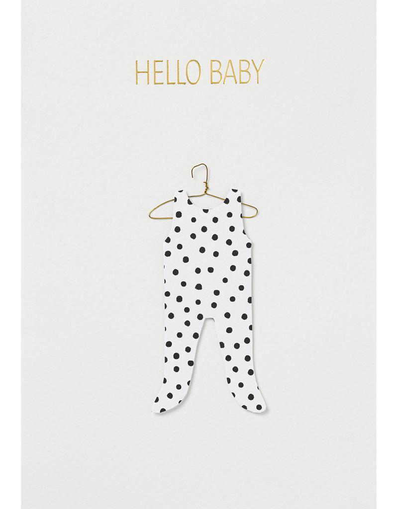 Räder Design Grußkarte Hello Baby