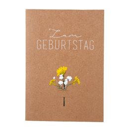 Räder Design Blumenkarte Zum Geburtstag