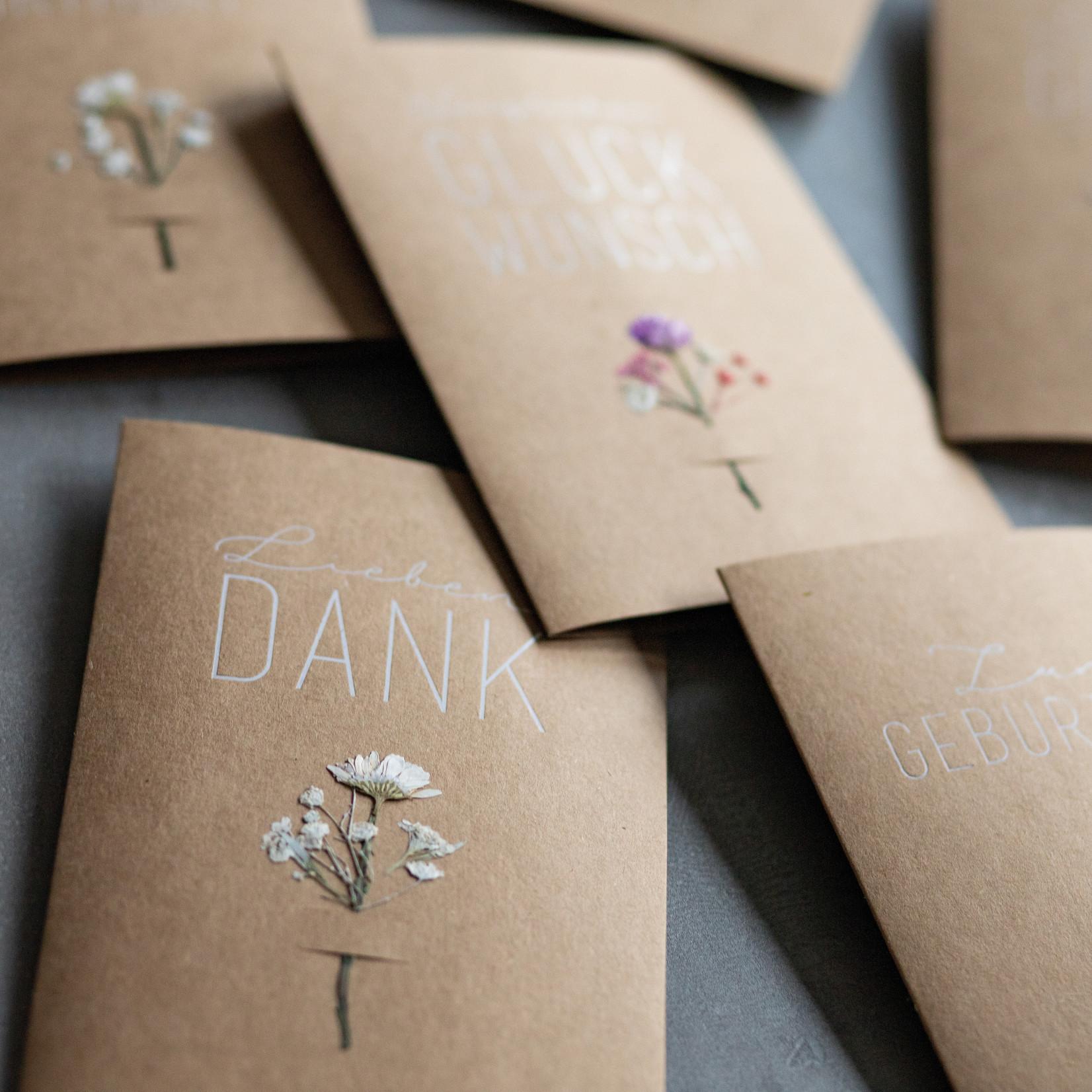 Räder Design Blumenkarte Congrats to you