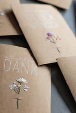 Räder Design Blumenkarte Lieben Dank