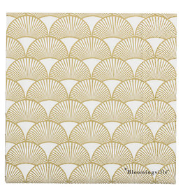 Bloomingville  Serviette Gold Bows