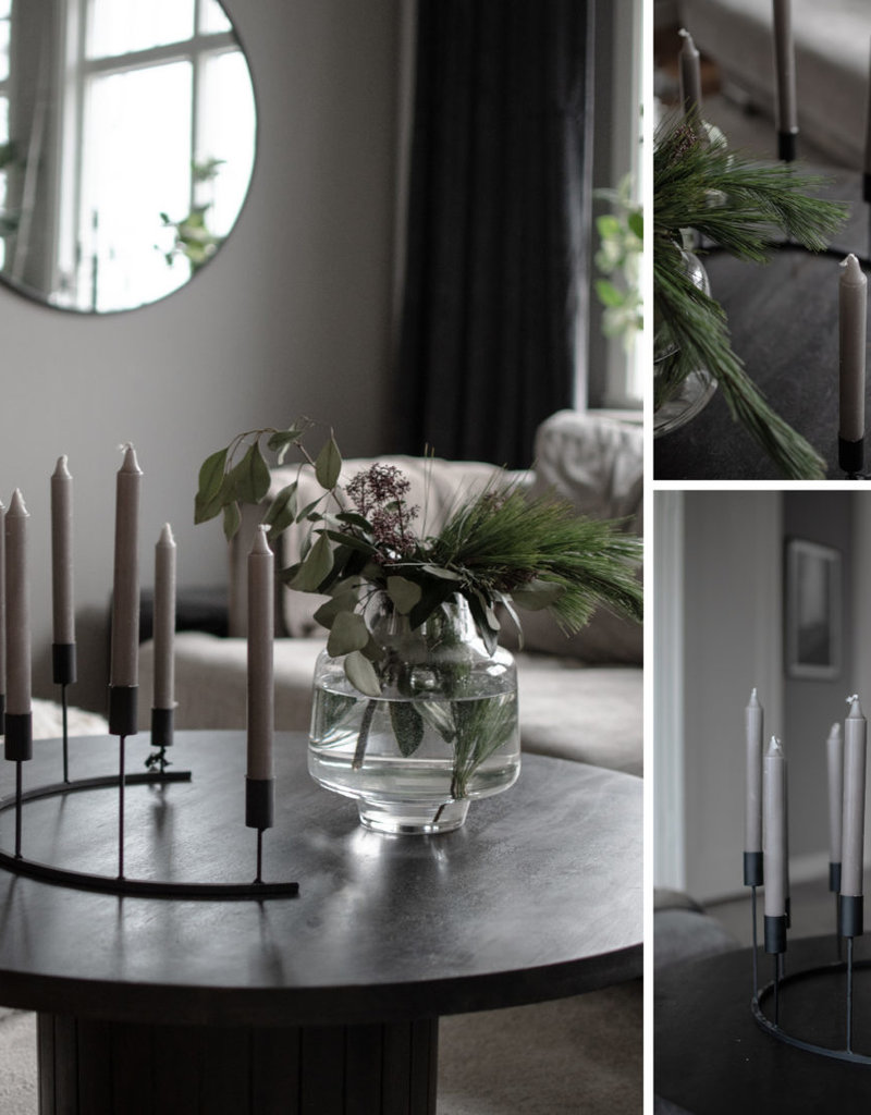 Storefactory  Kerzenständer Tjarnö schwarz