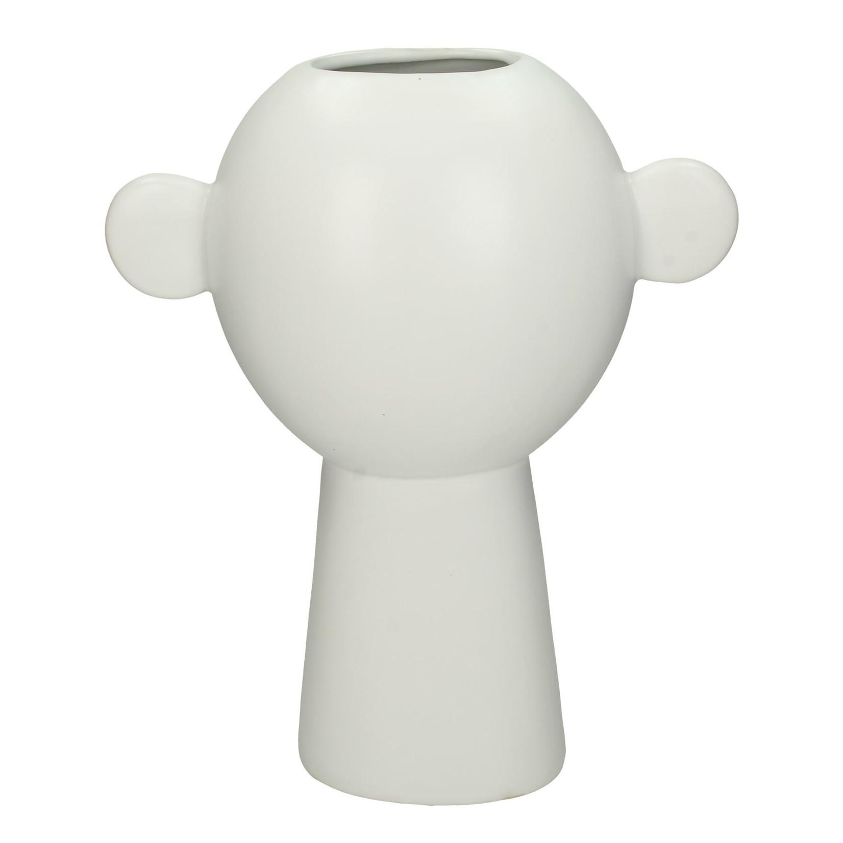 Vase Dassie white