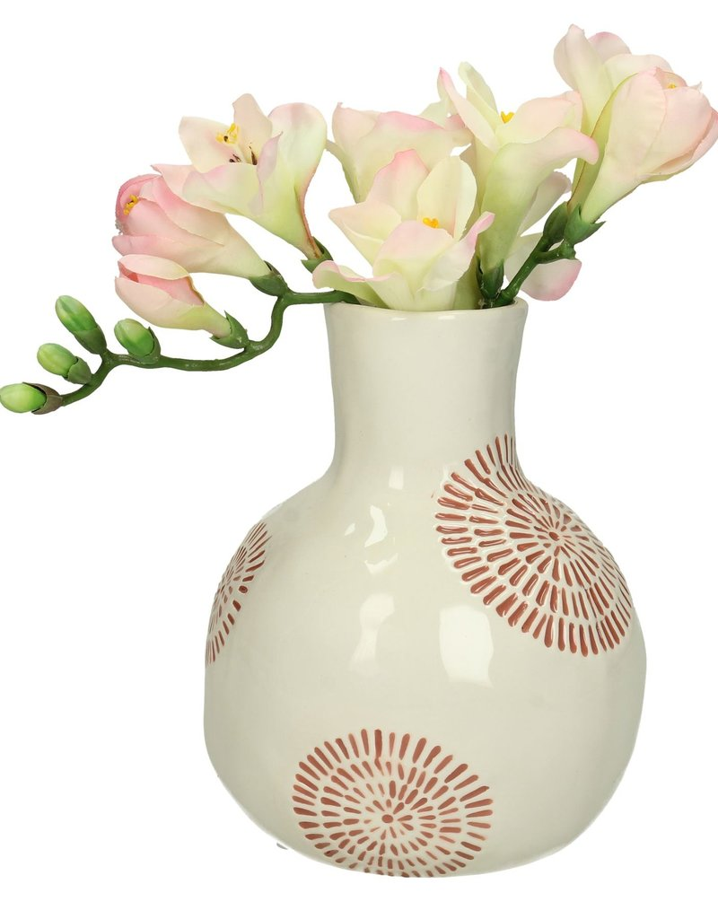 Vase White Earth