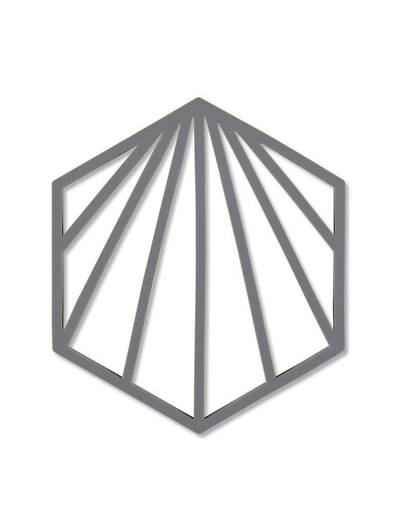 Zone Denmark - Shell Untersetzer grau