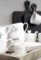 Bastion Collections Kaffeebecher Coffee Makes you happy