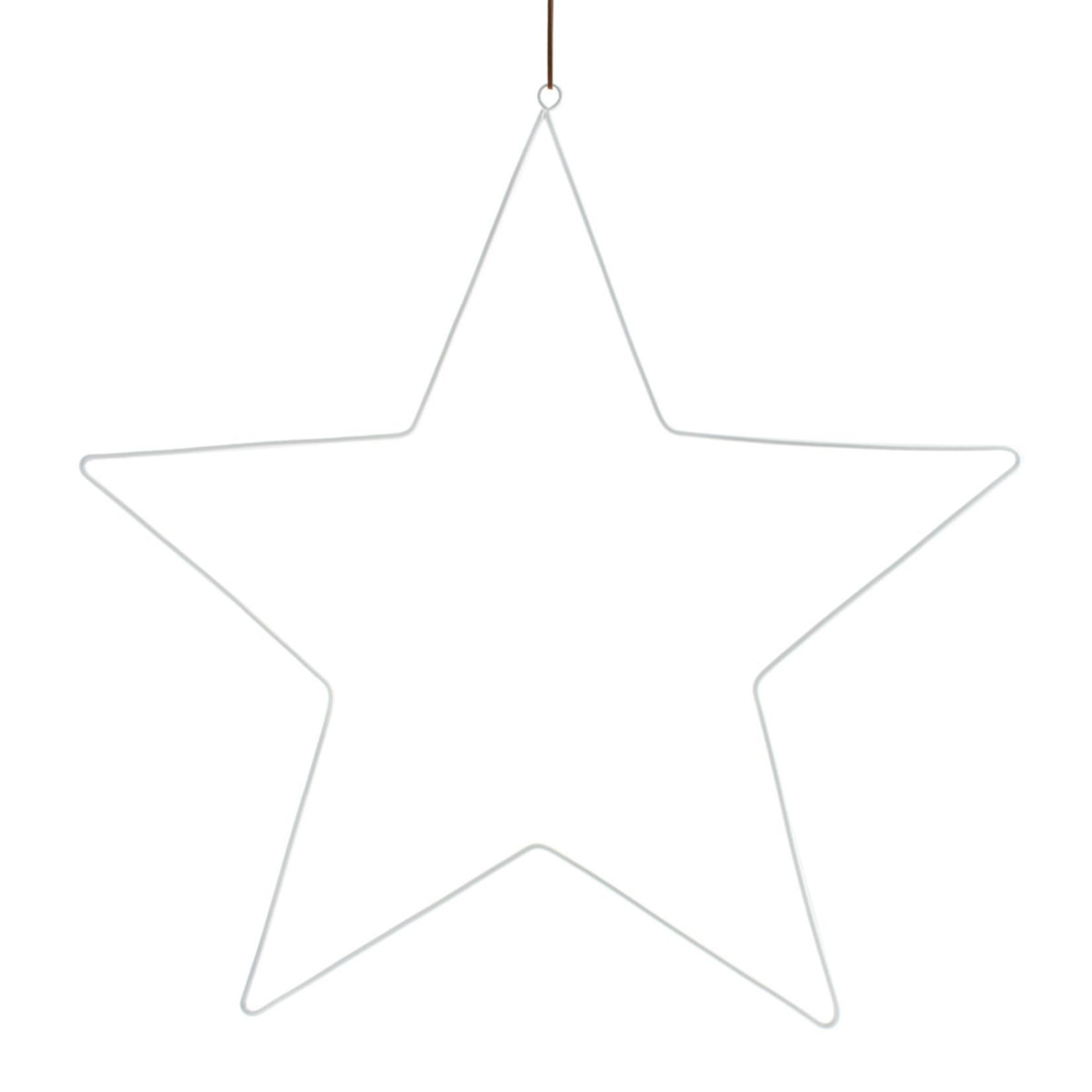 Storefactory  Starholm weißer Metallstern