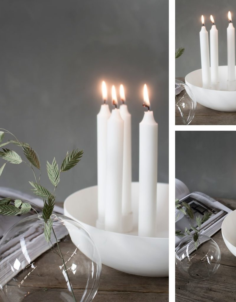 Storefactory  Kvistbro Kerzenständer weiß