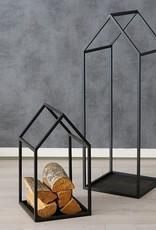 Metallhaus schwarz 2 Größen