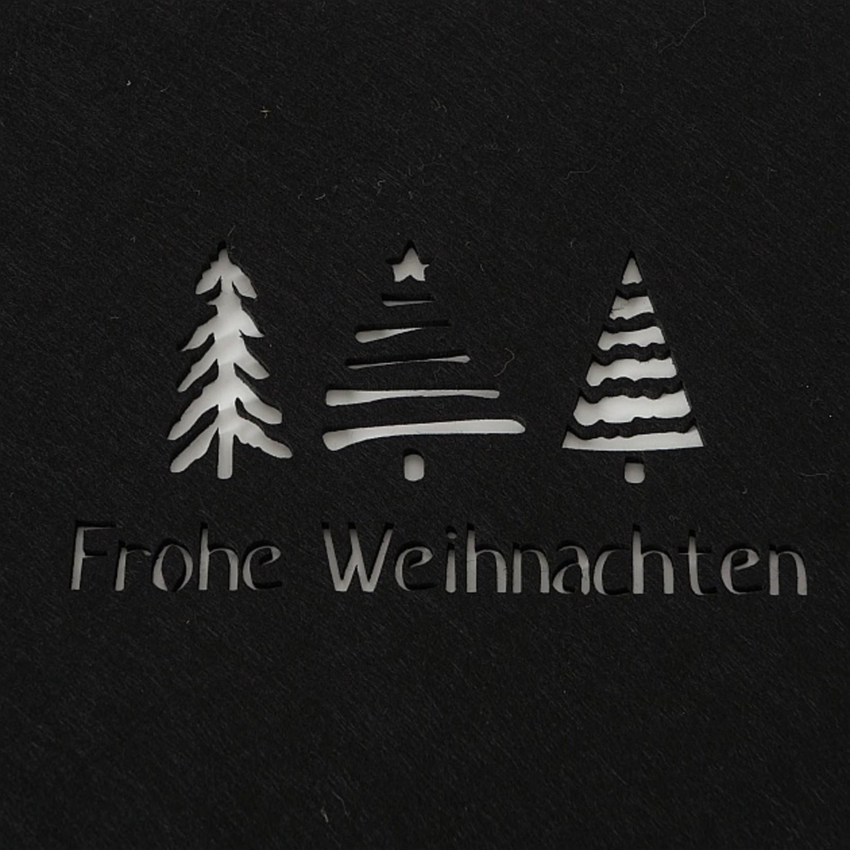 Tischset Frohe Weihnachten