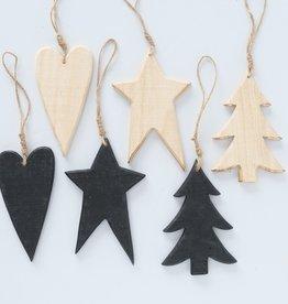 Weihnachtsanhänger Holz