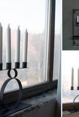 Storefactory  Kerzenständer Stavre schwarz