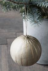 House Doctor Weihnachtskugel Craft Gold M
