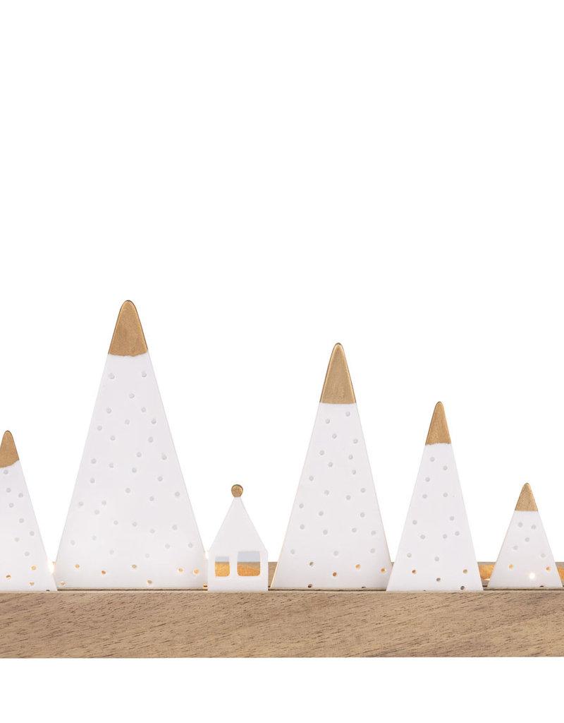 Räder Design Lichtobjekt Berge