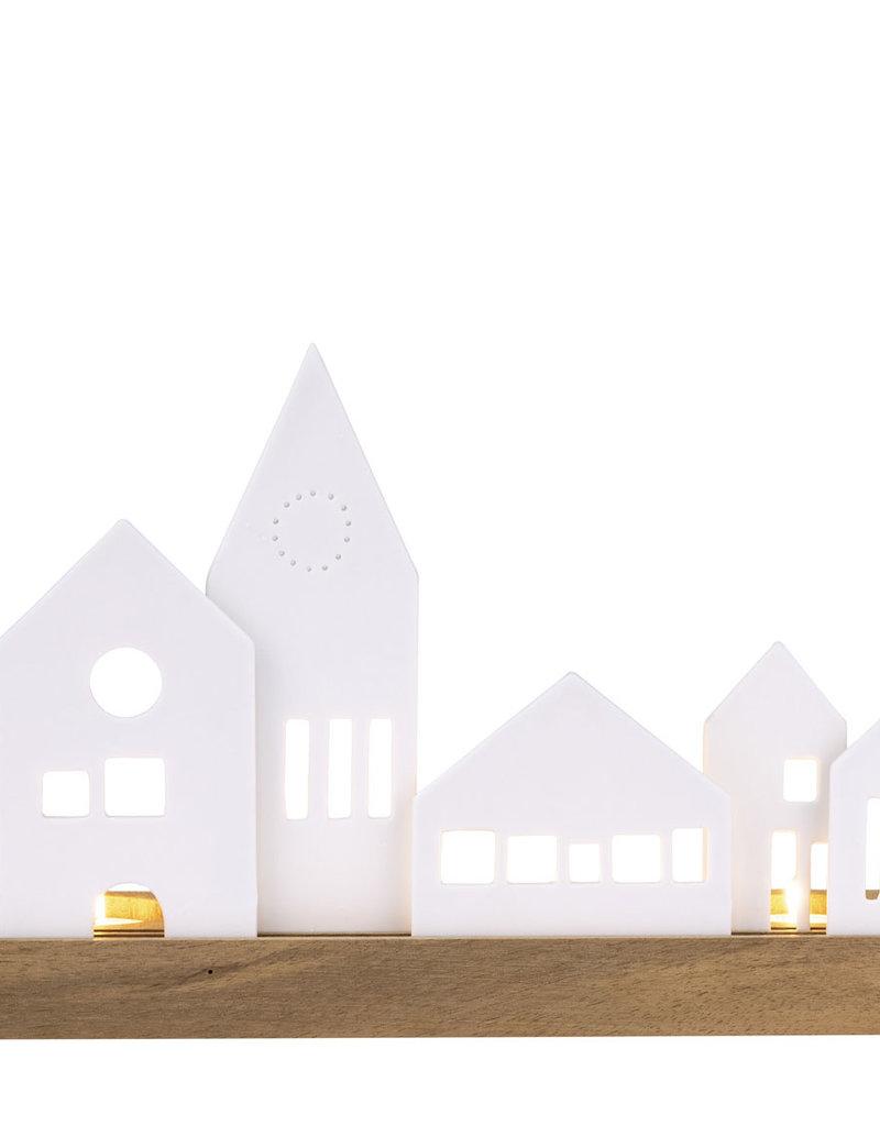 Räder Design Lichtobjekt Stadt