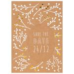 Räder Design Postkarte Save the date 24/12