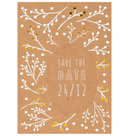 Räder Design Postkarte Save the date 24/12