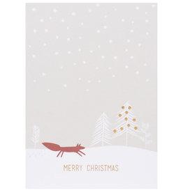Räder Design Weihnachtspostkarte Merry Christmas